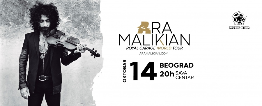 Ara Malikian, Royal Garage, violina, muzičar