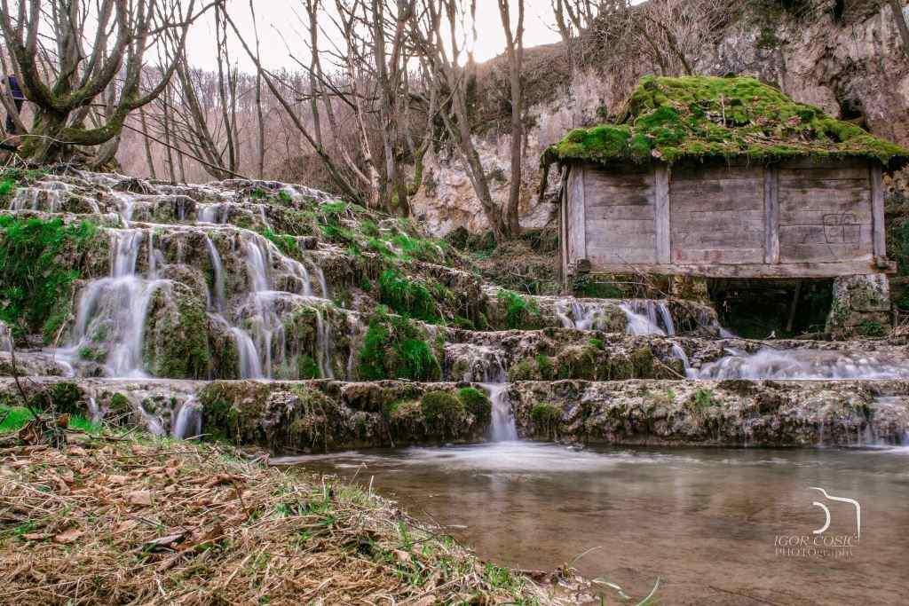 Taorska vrela, Povlen, Vodopad